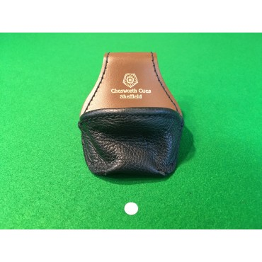 Chesworth Cues Real Leather Pouch