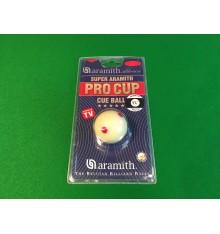 "Aramith Pro Cup 1 7/8"" TV White"