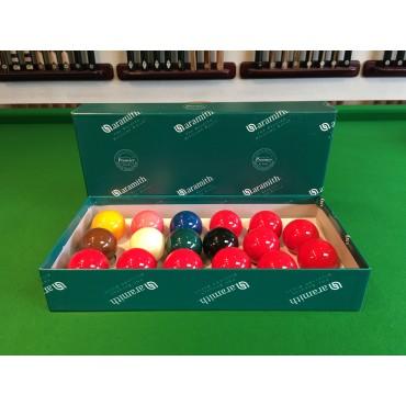 "Aramith Premier Snooker Balls (1 3/4"" 10 red)"