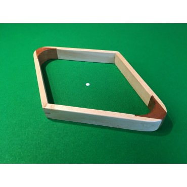 Wooden American Pool Diamond