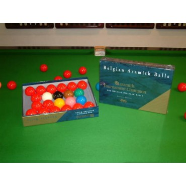 Aramith Tournament Champion '3G' Snooker Balls