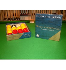Aramith Super Pro-Cup Match Pool Balls