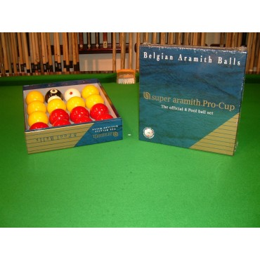 Aramith Super Pro-Cup Match Pool Balls
