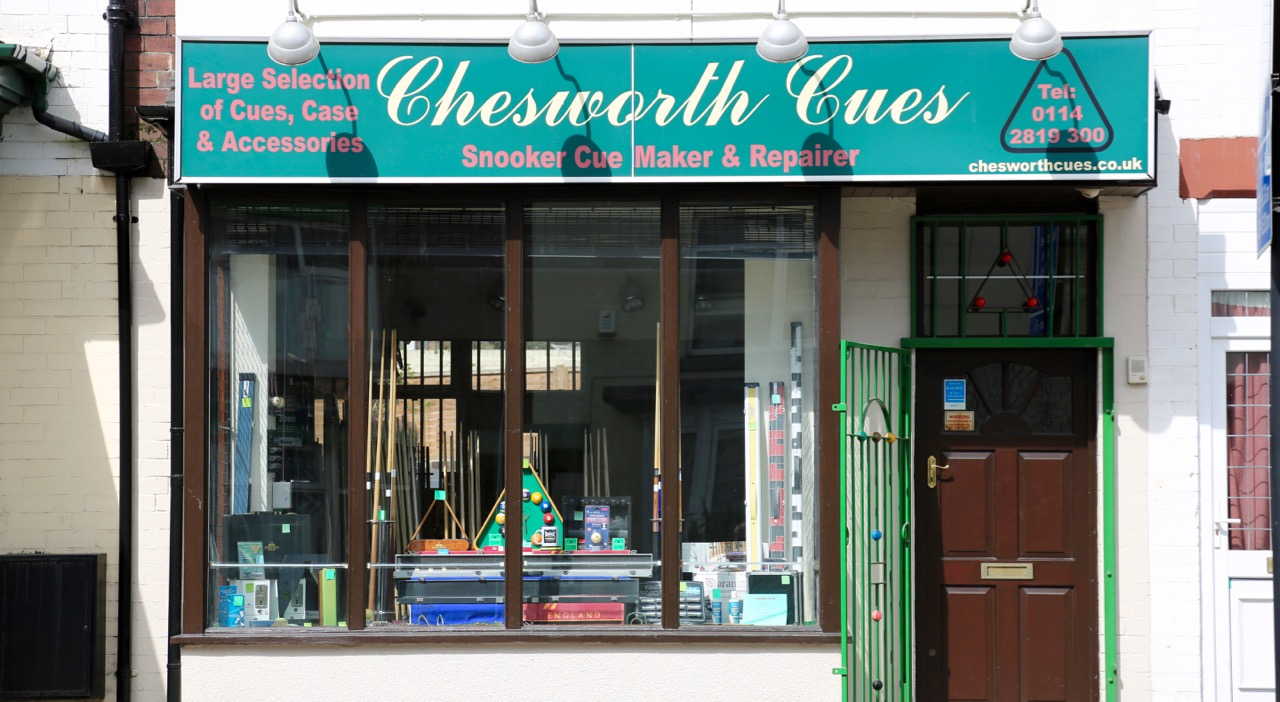 Sheffield Store - Chesworth Cues